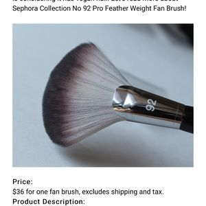 SEPHORA COLLECTION#92 PRO FEATHER WEIGHT FAN BRUSH